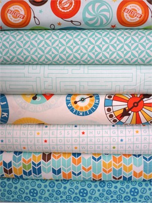 Lori Whitlock, Fun & Games, Aqua in FAT QUARTERS 7 Total