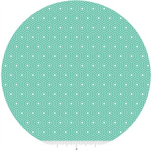 Lori Whitlock, Lazy Day, Hexagon Teal