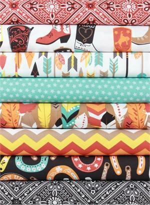 Maude Asbury for Blend, Luckie in FAT QUARTERS 8 Total
