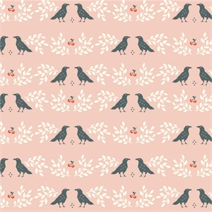 COMING SOON, Arleen Hillyer for Birch Organic Fabrics, Merryweather, Nevermore