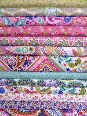 Maude Asbury, Paisleigh, Three Cheers 12 Total in FAT QUARTERS