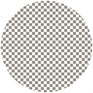 Maude Asbury, Ribs & Bibs, Checkerboard Taupe