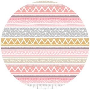 Maude Asbury, Snow Day, Sweater Stripe Pink