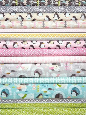 Maude Asbury, Snow Day in FAT QUARTERS 13 Total