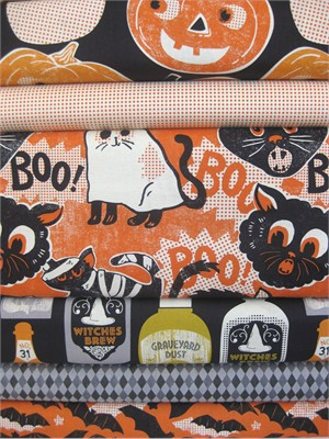 Maude Asbury, Spooktacular in FAT QUARTERS, 6 Total