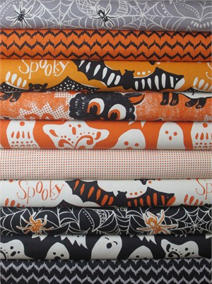 Maude Asbury, Spooktacular Too in FAT QUARTERS 10 Total