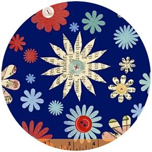 Macrina Busato, Handmade, Crafty Floral Blue