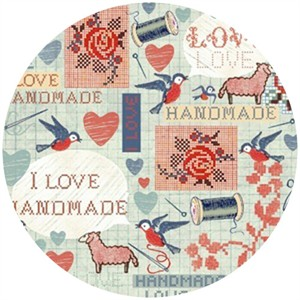 Macrina Busato, Handmade, I Love Handmade Aqua