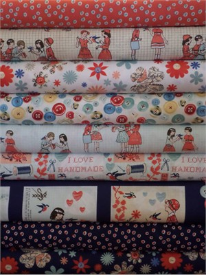 Macrina Busato, Handmade in FAT QUARTERS 9 Total
