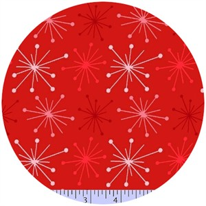 Marcus Fabrics, Color Love, Burst Red