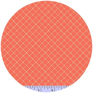 Marcus Fabrics, Color Love, Lattice Coral