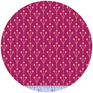 Marcus Fabrics, Color Love, Sprouts Magenta