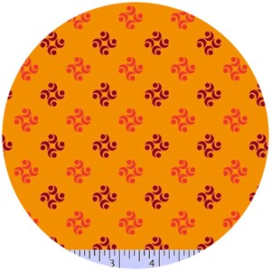 Marcus Fabrics, Color Love, Wallpaper Orange