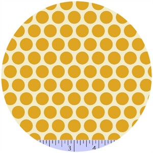 Marcus Fabrics, Retro Geo, Dots Yellow