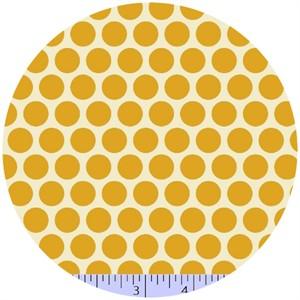 Marcus Fabrics, Retro Geo, Dots Yellow