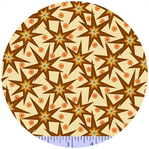 Marcus Fabrics, Retro Geo, Star Bright Cream