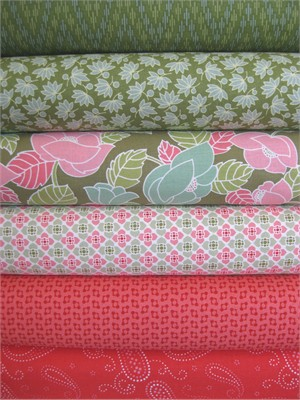 Marcus Fabrics, Visual Effects, Spring Forward in FAT QUARTERS 6 Total