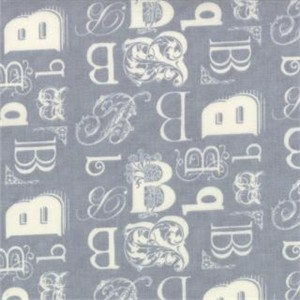 Mary Jane for Moda, Bee My Honey, B Hive Galvanized Grey