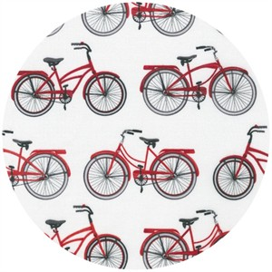 Mary Lake-Thompson for Robert Kaufman, Everyday Favorites, Cruisers Red