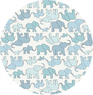 Lewis & Irene, Welcome to the World, Marching Elephant Family Blue