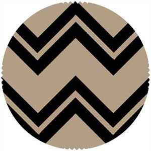 Maywood Studio, Printed Burlap, Chevron
