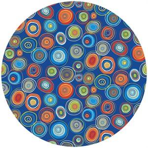 Makower UK, Auto, Circles Blue