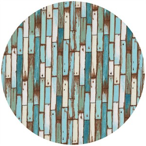 Makower UK, Coastal, Planks Blue