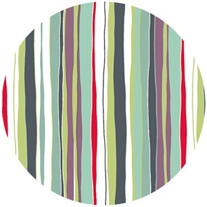 Makower UK, Meadow, Stripe Dark