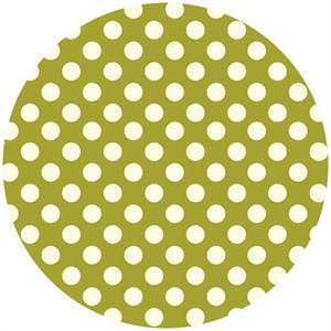 Makower UK, Polka Dot Bright Olive