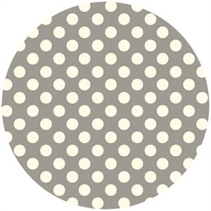 Makower UK, Polka Dot Dove Grey