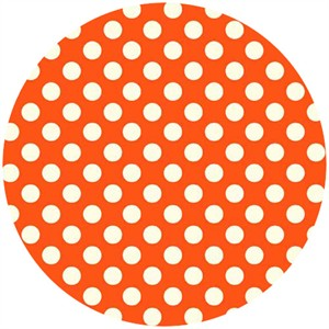 Makower UK, Polka Dot Signal Red