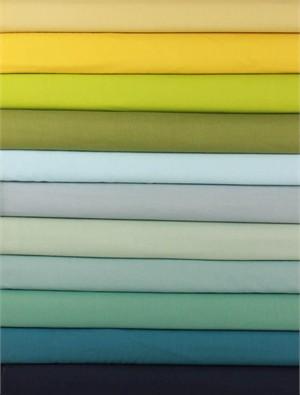 Birch Organic Fabrics, Mod Basics, Solids Blues 9 Total