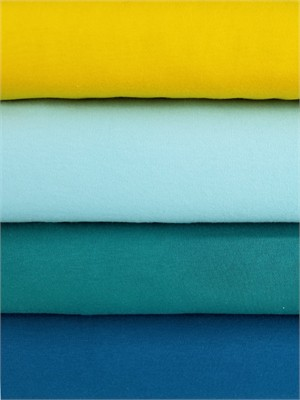 Birch Organic Fabrics, Mod Basics, KNIT, Solid Brights 4 Total