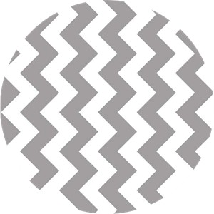 Riley Blake, Medium Chevron, Gray