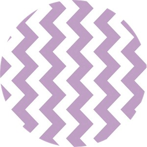 Riley Blake, Medium Chevron, Lavender