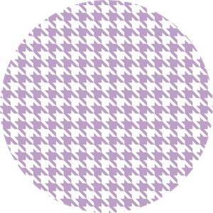 Riley Blake, Medium Houndstooth Lavender