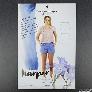 Megan Nielsen, Sewing Pattern, Harper Shorts and Skort