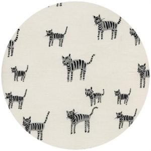Cotton and Steel, Black & White, Tiger Stripes