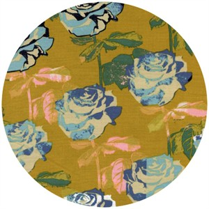 Melody Miller for Cotton and Steel, Picnic, Rose Garden Mustard