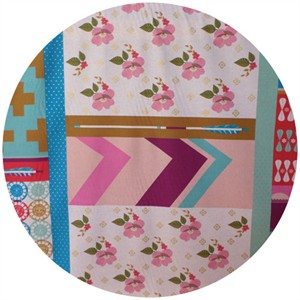 Melody Miller, Ruby Star Polka Dot, WIDE WIDTH, Patchwork Pink (1 Yard Panel)