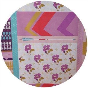 Melody Miller, Ruby Star Polka Dot, WIDE WIDTH, Patchwork Lavender (1 Yard Panel)