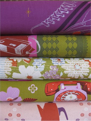 Melody Miller, Ruby Star Sparkle, Go With Me in FAT QUARTERS 5 Total