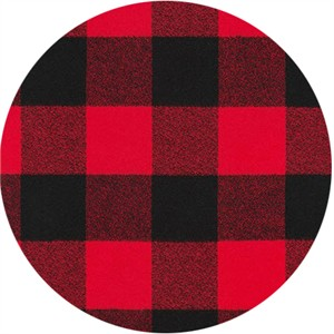 Robert Kaufman, Mammoth FLANNEL, Buffalo Check Red