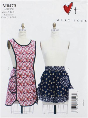 Mary Fons, Sewing Pattern, Misses' Aprons