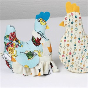Sewing Tutorial   Miss Bobbins the Fabricworm Chicken