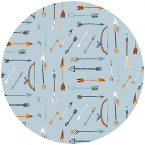 Miriam Bos for Birch Organic Fabrics, Wildland, Archery Rain