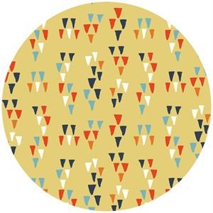 Miriam Bos for Birch Organic Fabrics, Wildland, KNIT, Arrowheads Sun