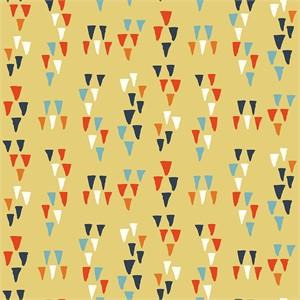 Miriam Bos for Birch Organic Fabrics, Wildland, Arrowheads Sun