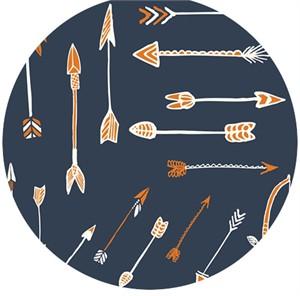 Miriam Bos for Birch Organic Fabrics, Wildland, CANVAS, Archery Dusk