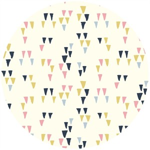 Miriam Bos for Birch Organic Fabrics, Wildland, Arrowheads Cream